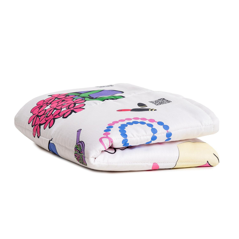 Детское одеяло KAJKA TOY STORIES 80x100 см сатин розовое (KAJKA0032)